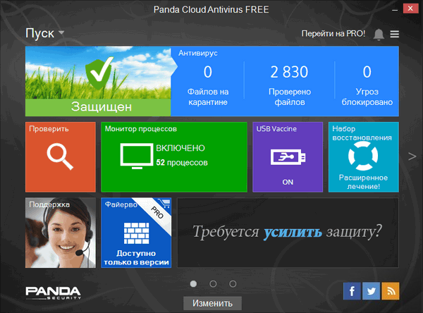 Panda Cloud Antivirus 3.0