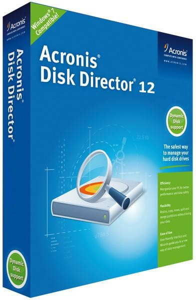 Acronis Disk Director 12.0 Build 3223