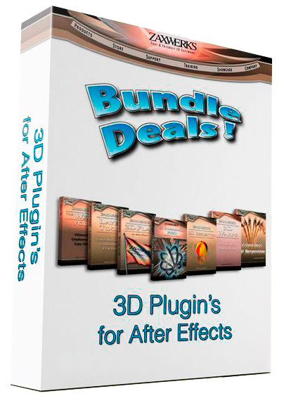 Zaxwerks 3D Plugin's Bundle for After Effects 2014