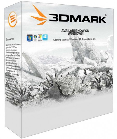 3DMark Pro 1.5.884 / Advanced 11.105