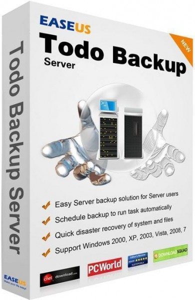 EaseUS Todo Backup Advanced Server 8.5.0 Build 20150626