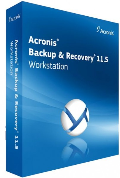 Acronis Backup Advanced 11.5 Build 39029 BootCD