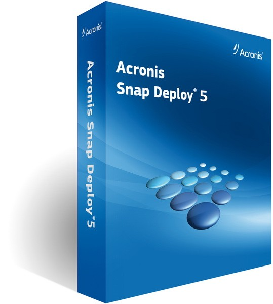 Acronis Snap Deploy 5.0.1416 BootCD