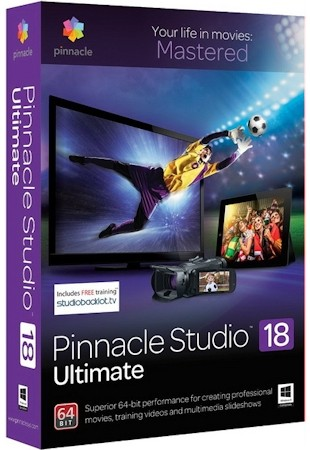 Pinnacle Studio Ultimate 18.0.2.10342 x86 / 18.0.2.444 x64