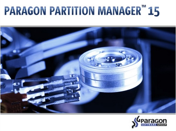 Paragon Partition Manager 15 Professional 10.1.25.377