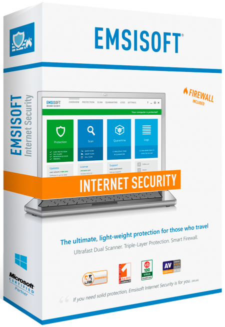 Emsisoft Anti-Malware / Internet Security 9.0.0.4985