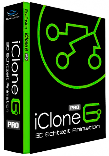 Reallusion iClone 6 Pro 6.0.1218 + Resource Pack