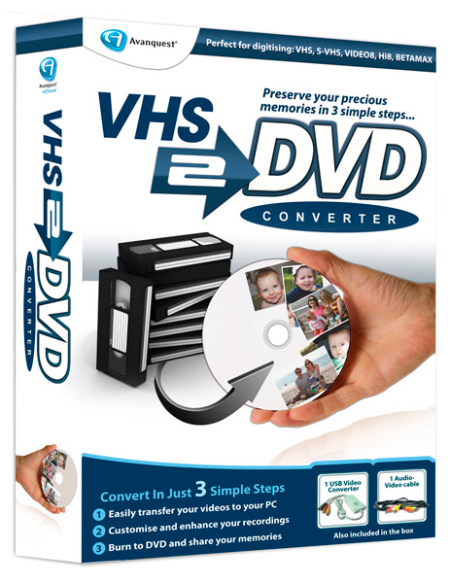 Avanquest VHS to DVD Converter 7.8.2