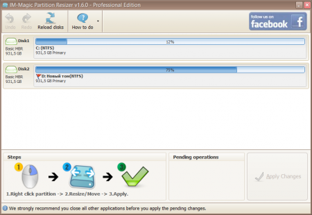 IM-Magic Partition Resizer 2.5.2