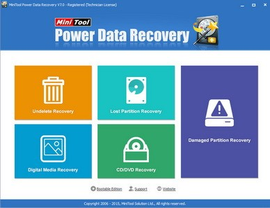 MiniTool Power Data Recovery 7.0.0.0