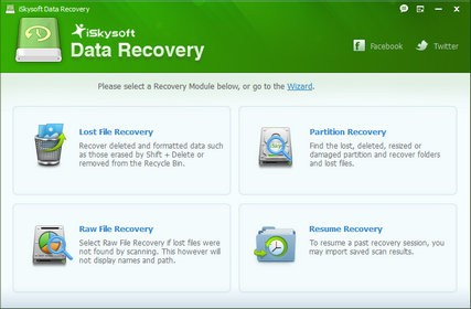 iSkysoft Data Recovery 1.3.1.2