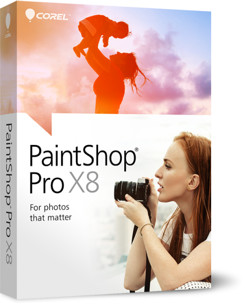 Corel PaintShop Pro X8 Ultimate 18.0.0.124