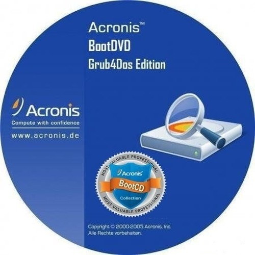 Acronis BootDVD 2015 Grub4Dos Edition 30 (13 in 1)