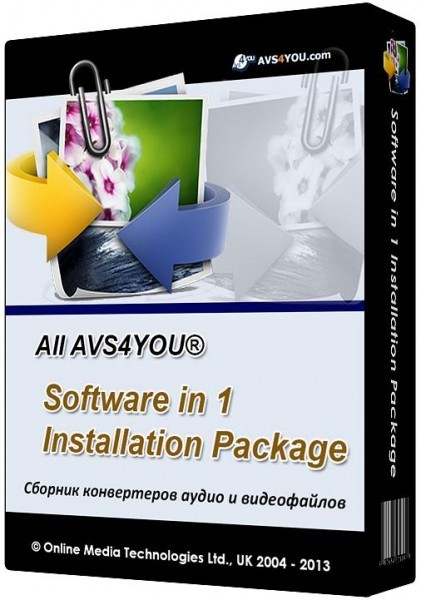 All AVS4YOU Software in 1 Installation Package 3.0.2.128
