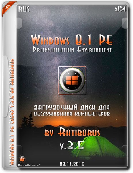 Windows 8.1 PE x64 v.3.5 by Ratiborus