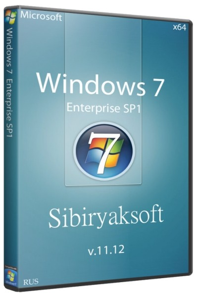 Windows 7 Enterprise SP1 by sibiryaksoft v 11.12