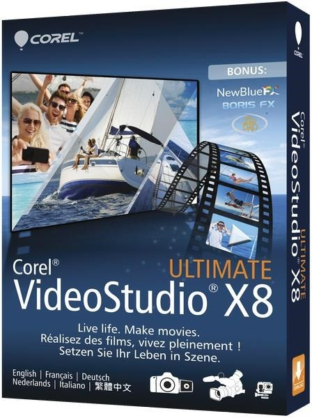 Corel VideoStudio Ultimate X9 19.3.0.19 + Content