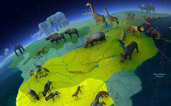 Animal World 3D Screensaver and Animated Wallpaper 1.0