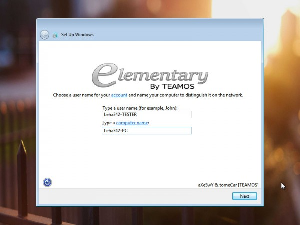 Windows 7 Ultimate SP1 x64 Elementary 2016 by Axeswy & Tomecar