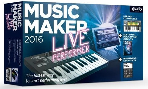 MAGIX Music Maker 2016 Live 22.0.3.63