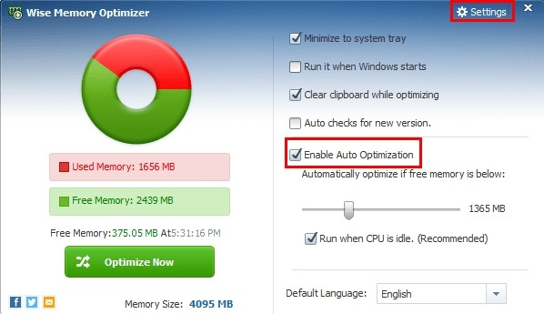 Wise Memory Optimizer 3.43.94