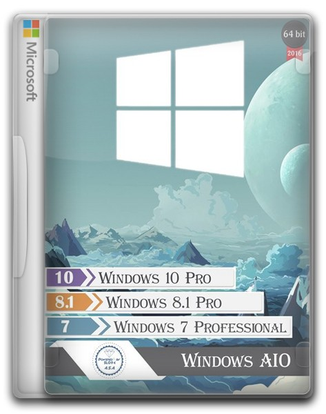 Windows AIO 3in1 by SLO94 v.19.02.16