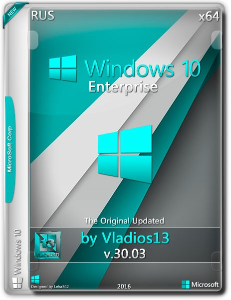 Windows 10 Enterprise x64 By Vladios13 v.30.03