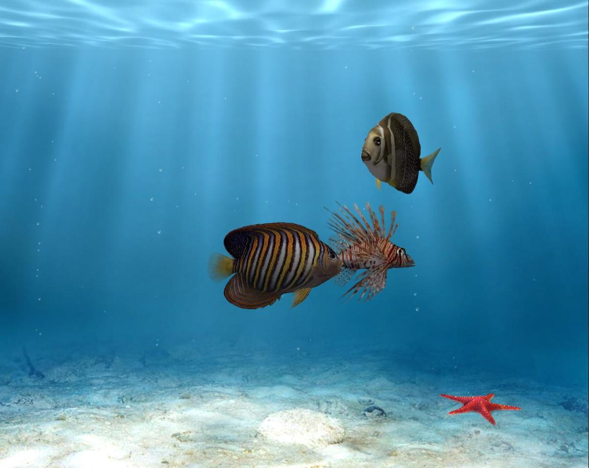 SimAquarium 2.7 Screensaver Portable