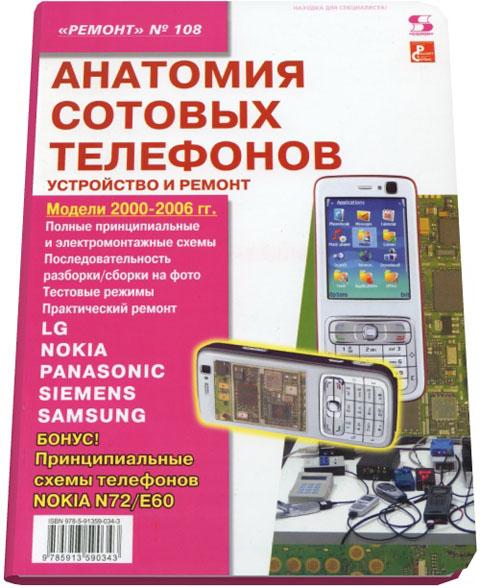 Анатомия сотовых телефонов.