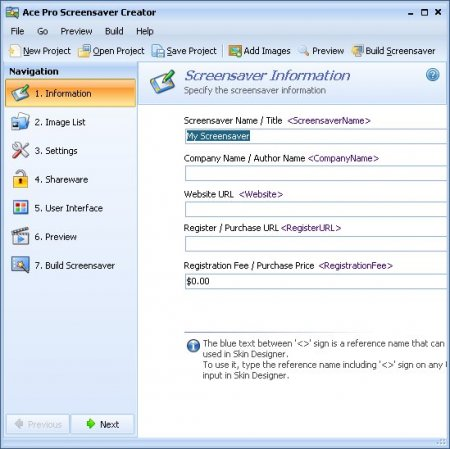Nufsoft Ace Pro Screensaver Creator 4.00.31.37