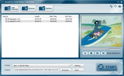 SnowFox Total Video Converter 2.8.1.1 Portable