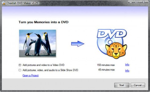 Cheetah DVD Maker 1.25