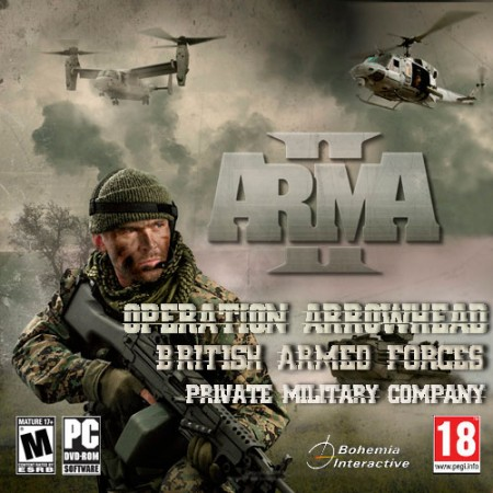 ArmA 2: Operation Arrowhead - British Armed Forces - Private Military Company