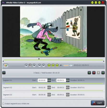 4Media Video Cutter 2.0.1.0111 Portable