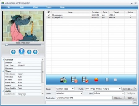 Joboshare MP4 Converter 2.9.0.0228 Portable