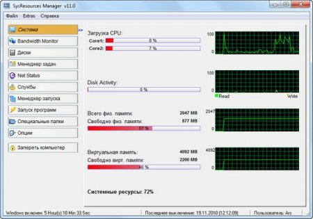 SysResources Manager 12.0